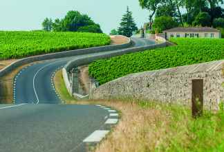 Route des châteaux - D2
